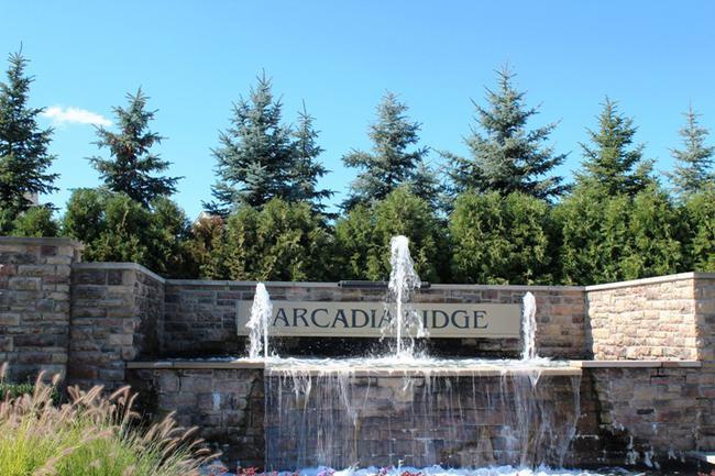 Real Estate in Arcadia Ridge Neighborhood in Northville MI