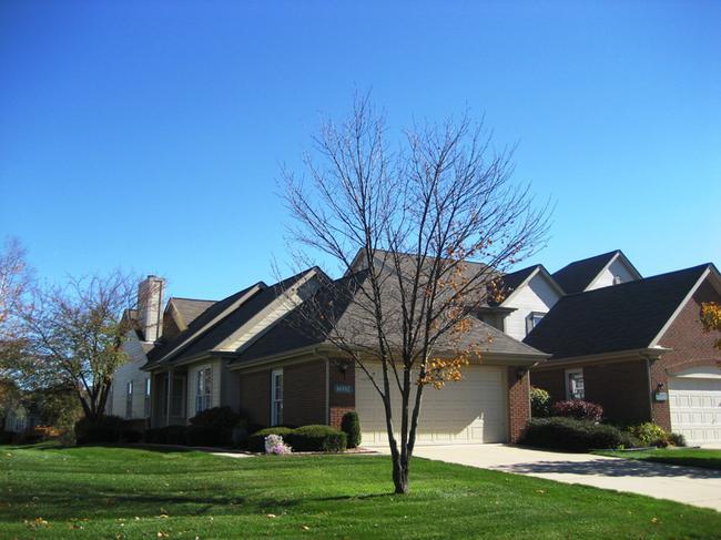 Country Club Village Northville, MI. Condo elevation.