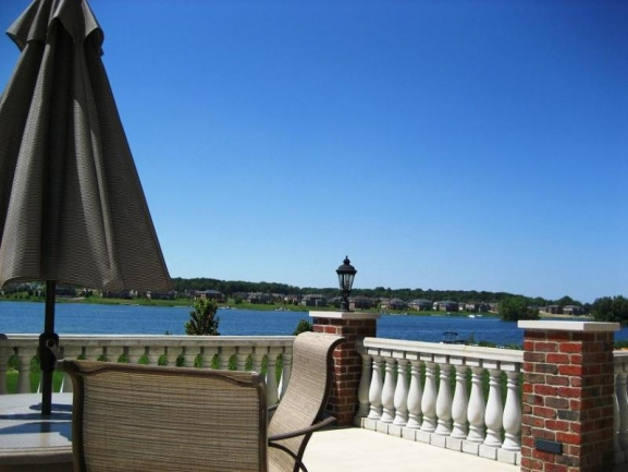 Island Lake condos, Novi Michigan. View of the Lake