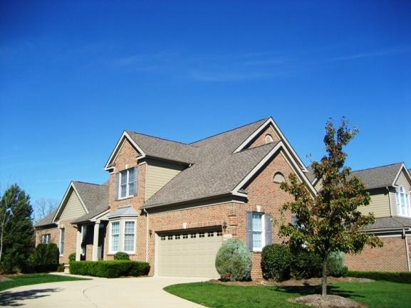 The Villas at Northville Hills Golf Community, Northville MI. Condo elevation.