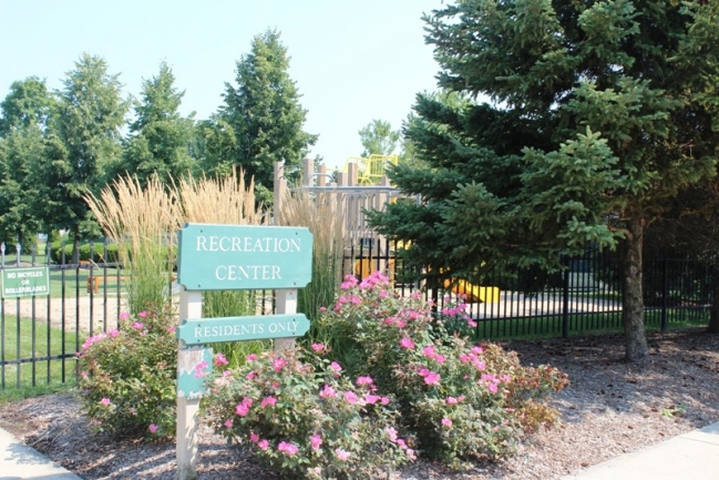 Recreation Area in Country Club Village Condo Community in Northville, MI
