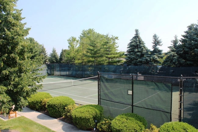 Country Club Village Tennis Courts in Northville