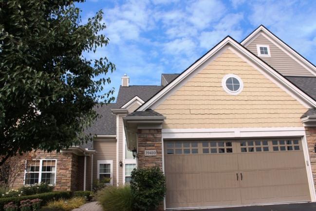 Northville real estate in Edgewater condominium complex
