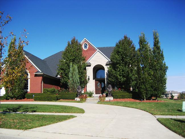 Home elevation 3 in Stonewater neighborhood, Northville