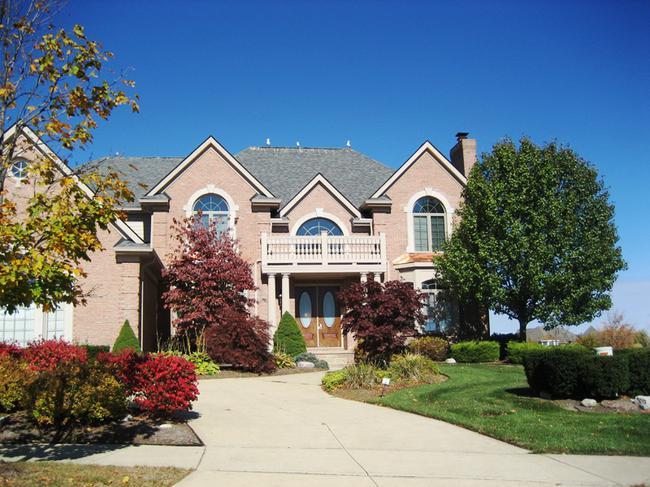 Stonewater subdivision in Northville MI