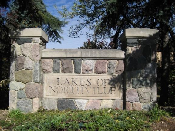 Lakes of Northville neighborhood real estate in Northville MI 1