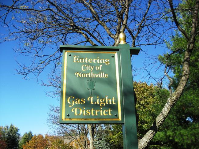 Pheasant Hills, Northville Michigan. Gas Light District