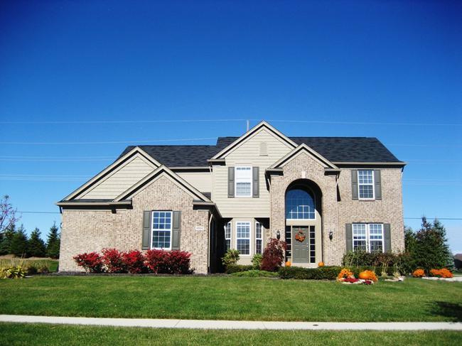 Home Elevation in Arcadia Ridge Neighborhood, Northville