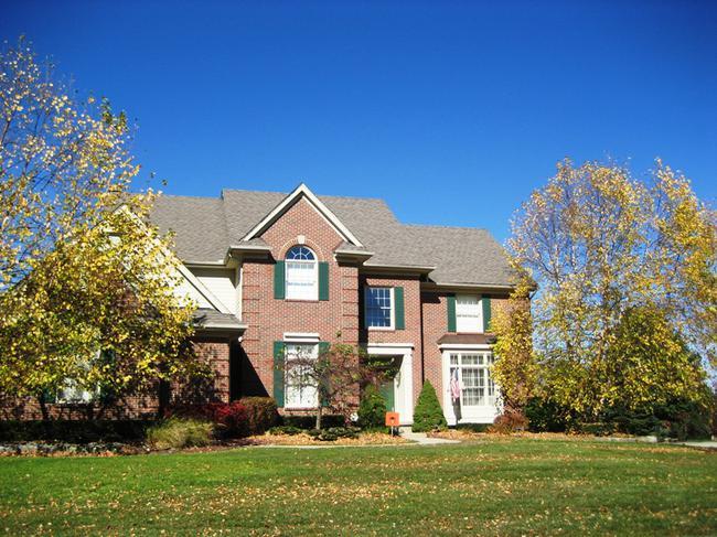Crestwood Manor, Northville MI. Home elevation.