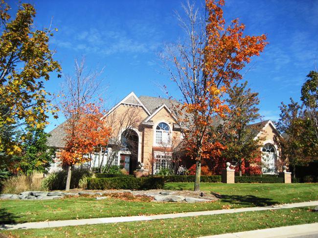 Neighborhood of Woods of Edenderry in Northville, MI luxury real estate 8