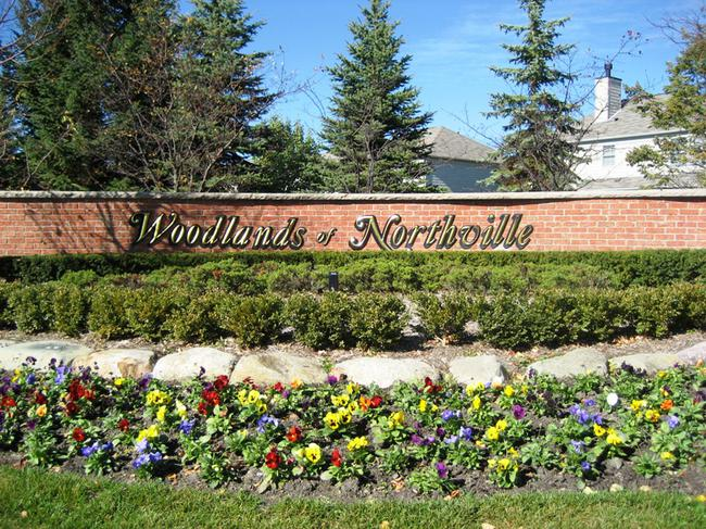 Woodlands of Northville, Northville MI 48168. Subdivision Entry.