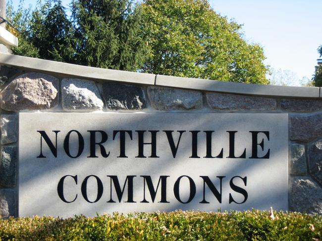 Neighborhood of Northville Commons in Northville MI real estate