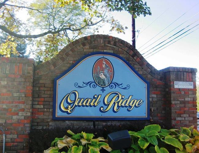 Quail Ridge Neighborhood Entrance, Northville MI 48167