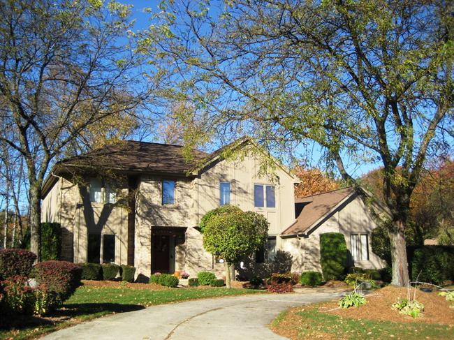 Elevation 6, Quail Ridge subdivision, Northville MI.