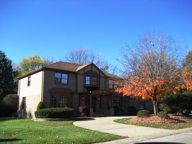 Quail Ridge neighborhood, Northville MI elevation 10