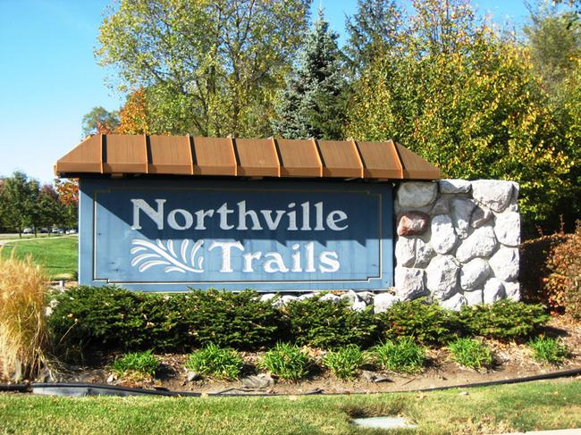 Neighborhood of Northville Trails in Northville MI real estate