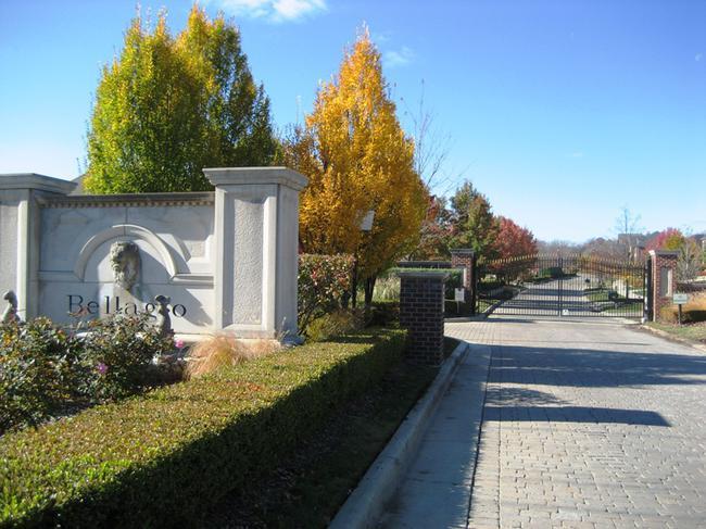 Bellagio Neighborhood, Novi Michigan subdivision entrance