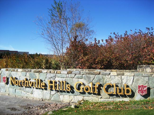 Northville Hills Golf Club subdivision real estate in Northville MI