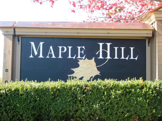 Maple Hill Neighborhood, Northville MI. Subdivision entry