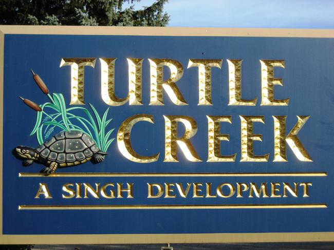 Turtle Creek Subdivision Entry, Novi MI 48375