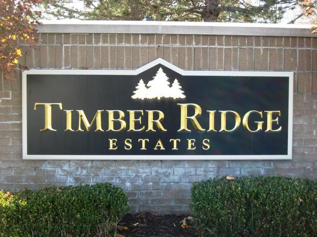 Timber Ridge Estates Novi, MI. Subdivision Entry