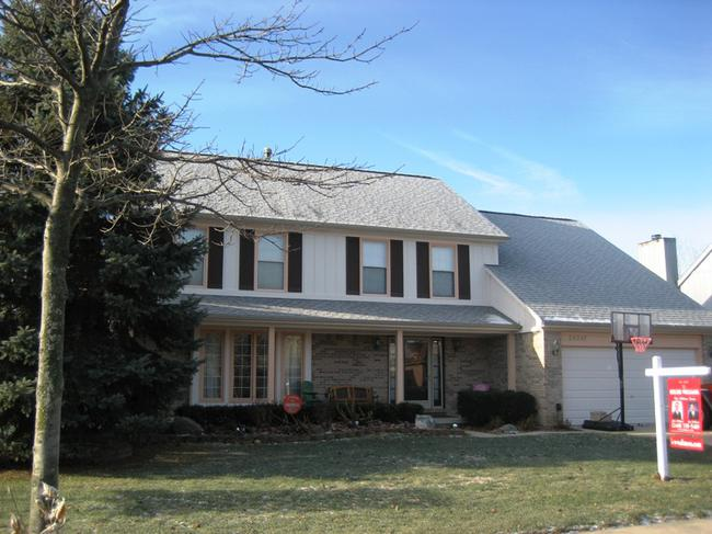 Briarwood Subdivision, Novi MI. Featured Listing, home elevation.