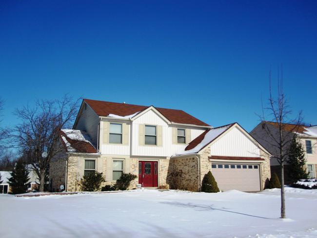 Dunbarton Pines Subdivision, Novi MI 48375. Home elevation 9
