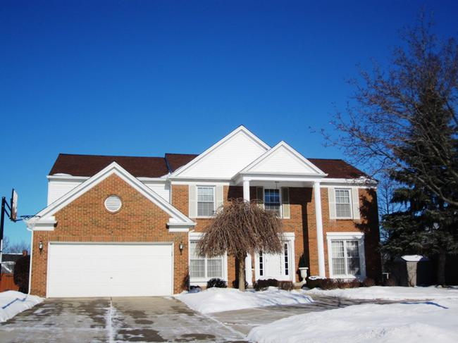 Home elevation 2. Dunbarton Pines, Novi MI 48375