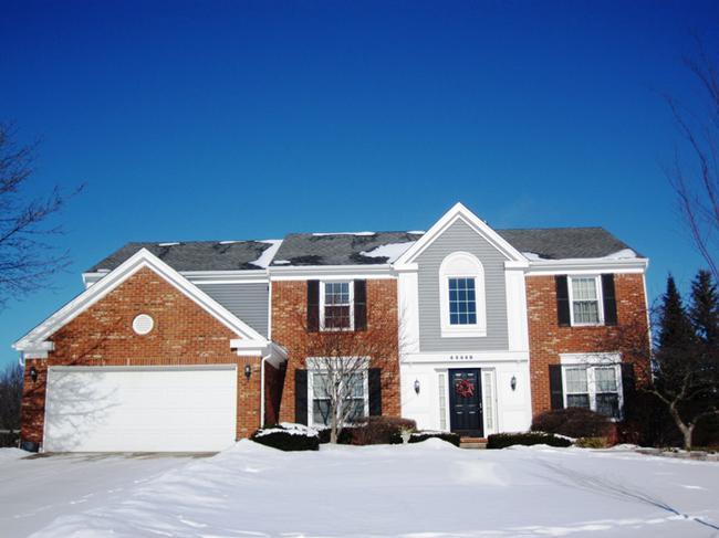 Home elevation 6. Dunbarton Pines Novi MI 48375