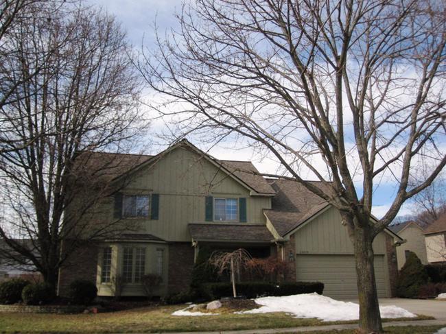 Briarwood Neighborhood, Novi MI 48374. Home elevation