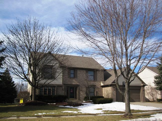 Briarwood Subdivision, Novi MI 48374. Home Elevation