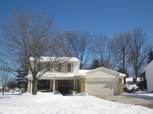 Elevation in Whispering Meadows Subdivision, Elevation 6, Novi MI