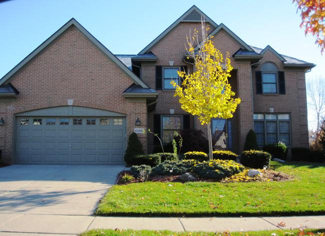 Willowbrook Farm Subdivision, home elevation 6 in Novi MI 48375