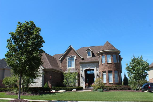 Home elevation 4 in Stonewater Northville MI