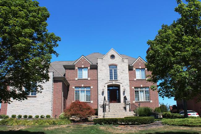 Subdivision home elevation in Stonewater Northville