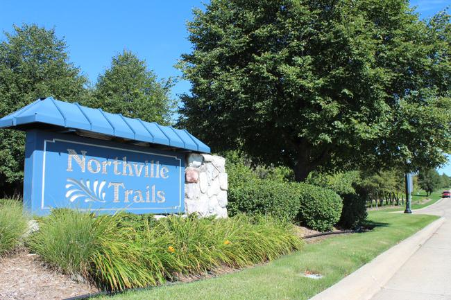 Neighborhood of Northville Trails in Northville MI real estate 4