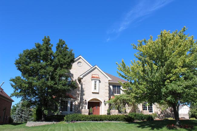 Subdivision of Northville Trails in Northville MI real estate 11