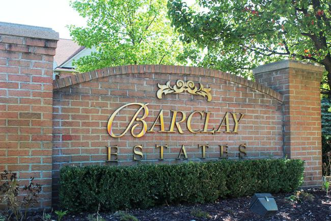 Barclay Estates Subdivision in Novi, MI Real Estate
