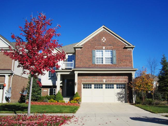 Novi real estate in Liberty Park subdivision