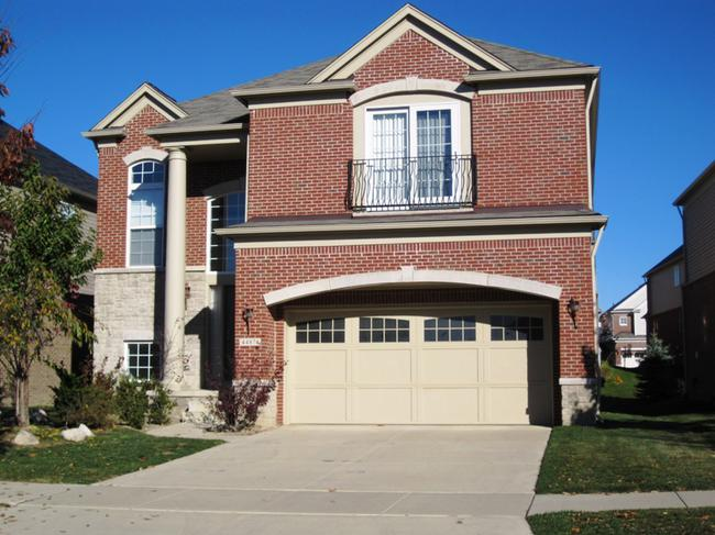 Liberty Park elevation view of Novi real estate