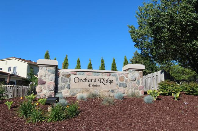Orchard Ridge Estates Neighborhood Entrance Sign