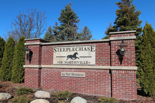 Steeplechase of Northville. Subdivision Entry, Northville MI 48168